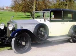 1929 Rolls Royce wedding car in Kingston Upon Thames